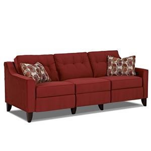 Trisha Yearwood Home Collection by Klaussner Audrina Power Reclining Sofa