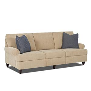 Trisha Yearwood Home Collection by Klaussner Beth  Reclining Sofa