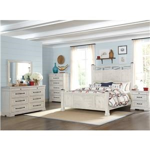 Trisha Yearwood Home Collection by Klaussner Coming Home Queen 5 Piece Bedroom Group