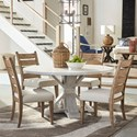Trisha Yearwood Home Collection by Klaussner Coming Home 5 Pc Dining Set - Item Number: 926-030-927-900