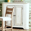 Trisha Yearwood Home Collection by Klaussner Coming Home Charmed Kitchen Storage Cabinet with Adjustable Shelf Inside