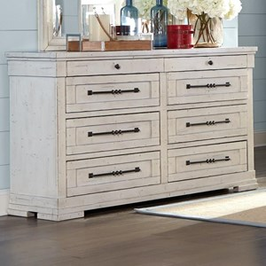Trisha Yearwood Home Collection by Klaussner Coming Home Haven Dresser