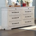 Trisha Yearwood Home Collection by Klaussner Coming Home Haven Dresser - Item Number: 926-650