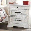 Trisha Yearwood Home Collection by Klaussner Coming Home Cozy Nightstand - Item Number: 926-670