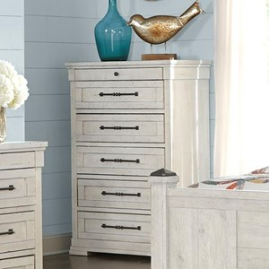 Trisha Yearwood Home Collection by Klaussner Coming Home Peaceful Drawer Chest