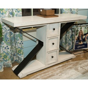 Trisha Yearwood Home Collection by Klaussner Coming Home Friendship Sofa Table