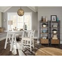 Trisha Yearwood Home Collection by Klaussner Coming Home Dreamer Saw Horse Table Desk