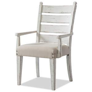 Trisha Yearwood Home Collection by Klaussner Coming Home Gathering Dining Arm Chair