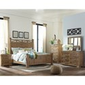 Trisha Yearwood Home Collection by Klaussner Coming Home King Bedroom Group - Item Number: 927 K Bedroom Group 1