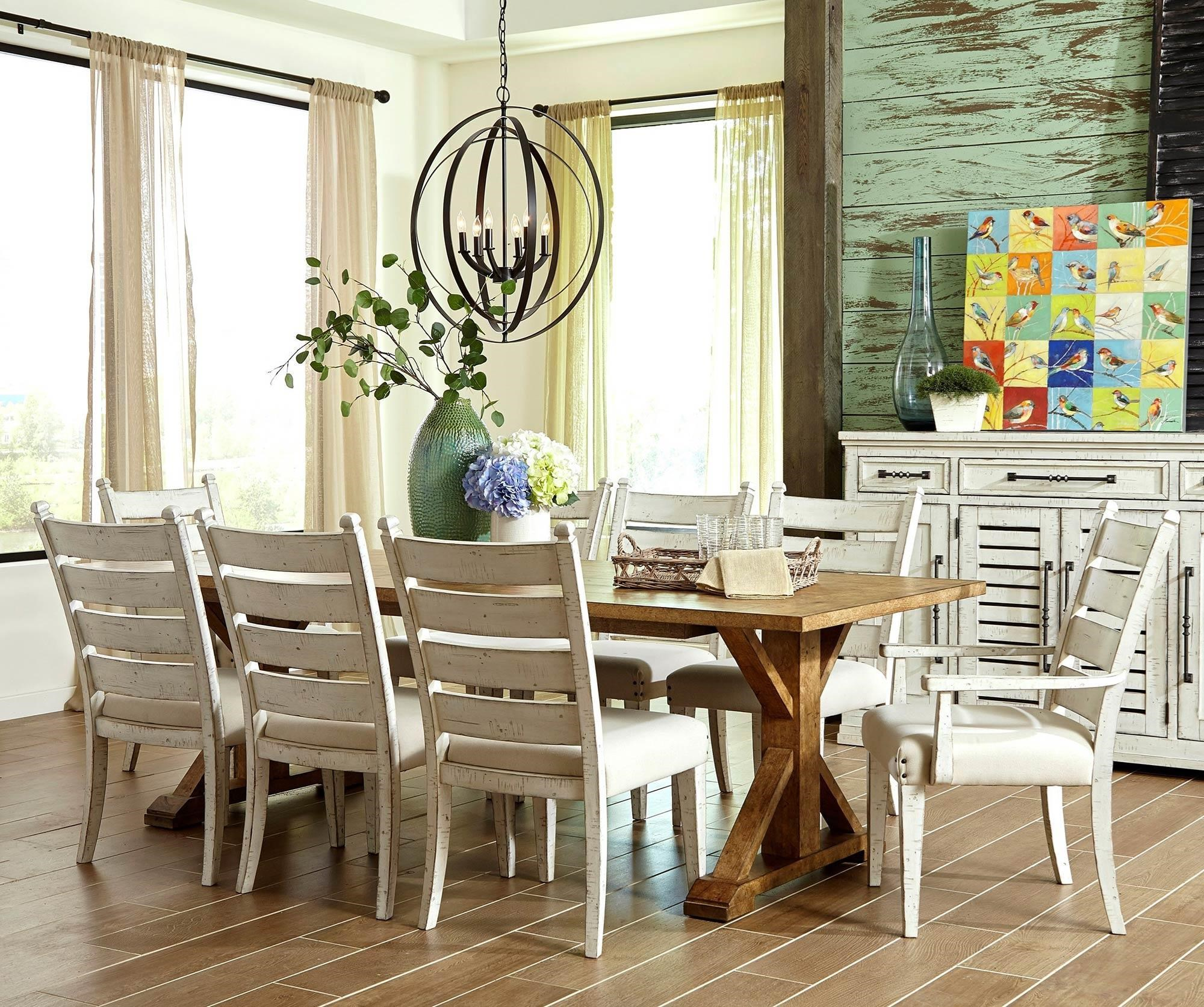 7PC Dining Table & Chair Set