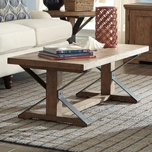 Trisha Yearwood Home Collection by Klaussner Coming Home Friendship Cocktail Table