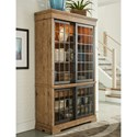 Trisha Yearwood Home Collection by Klaussner Coming Home Affection Display Cabinet with Lighting and Sliding Glass Doors