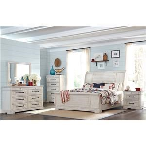 Trisha Yearwood Home Collection by Klaussner Coming Home 4-Piece Queen Bedroom