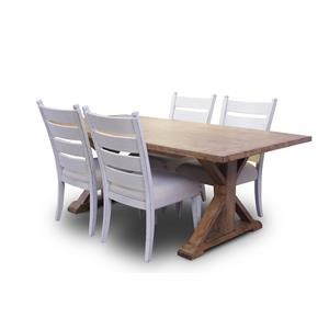 Trisha Yearwood Home Collection by Klaussner Coming Home 5-Piece Table & Chair Set