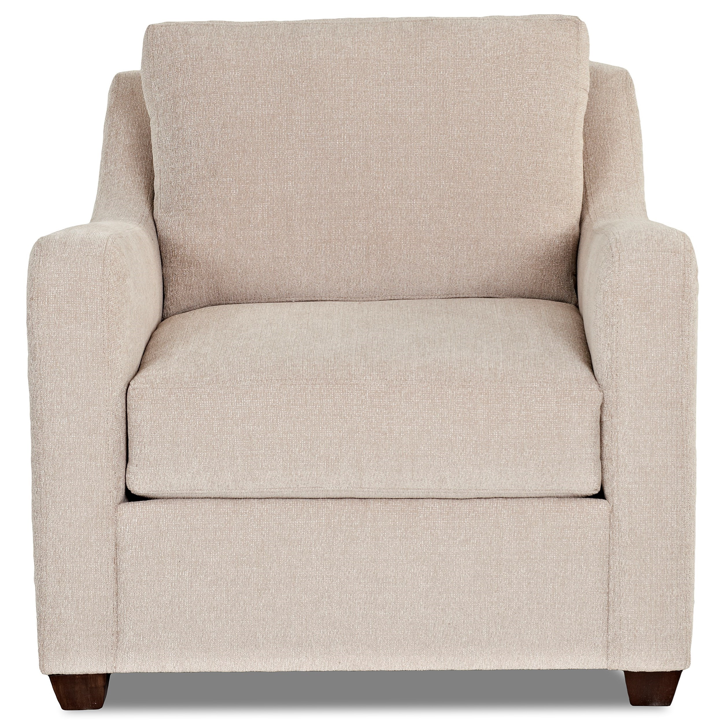 Klaussner Greer Chair - Item Number: K29200 C-Theory Platinum