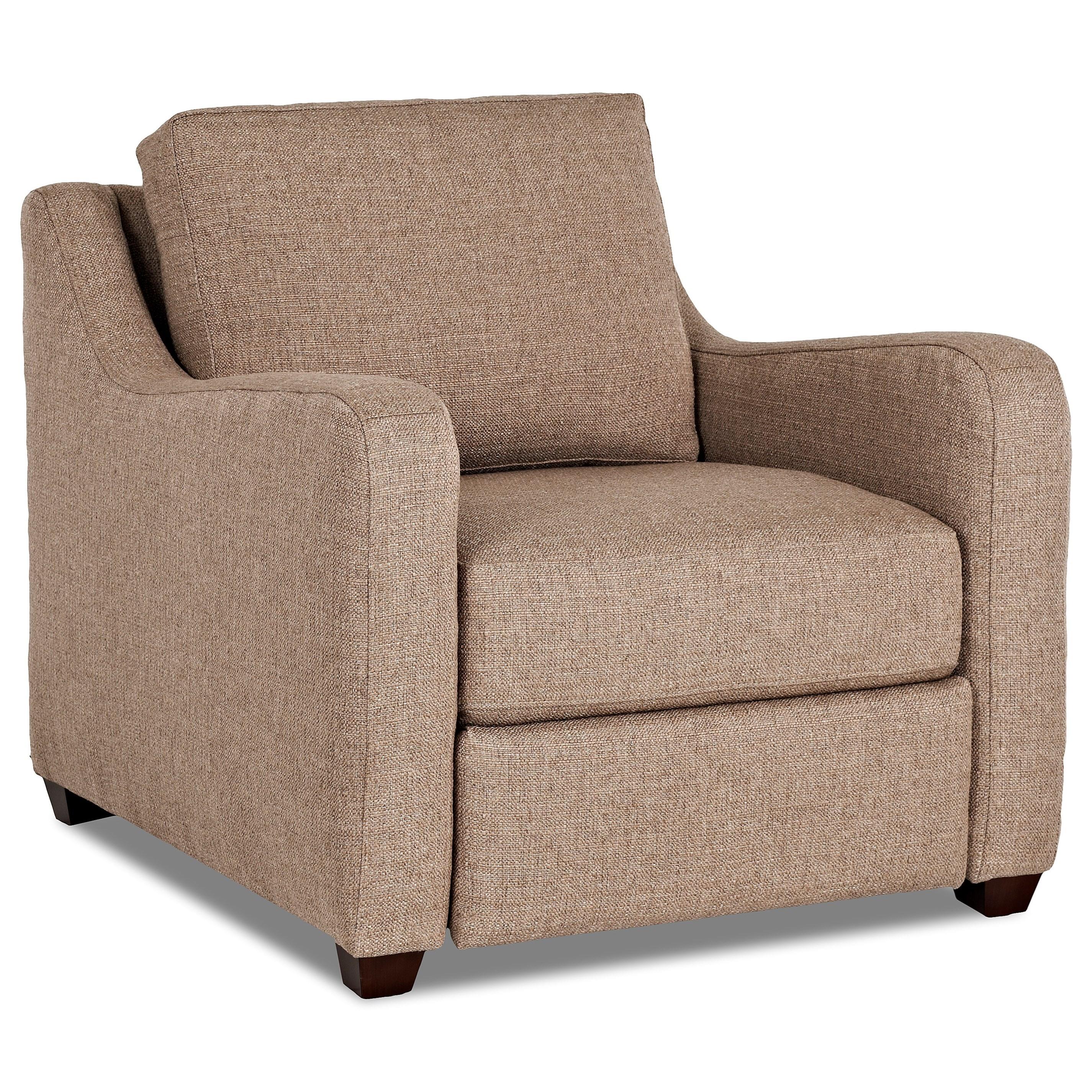 Klaussner Greer Power Hybrid Chair - Item Number: K29203 PWHC-SHAC - PEWT