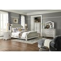 Trisha Yearwood Home Collection by Klaussner Jasper County King Bedroom Group - Item Number: 790 K Bedroom Group 1