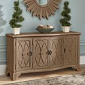 Trisha Yearwood Home Collection by Klaussner Jasper County Lanier TV Console - Item Number: 791-070 CONS