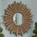 Trisha Yearwood Home Collection by Klaussner Jasper County Jordan Mirror - Item Number: 791-661 MIRR