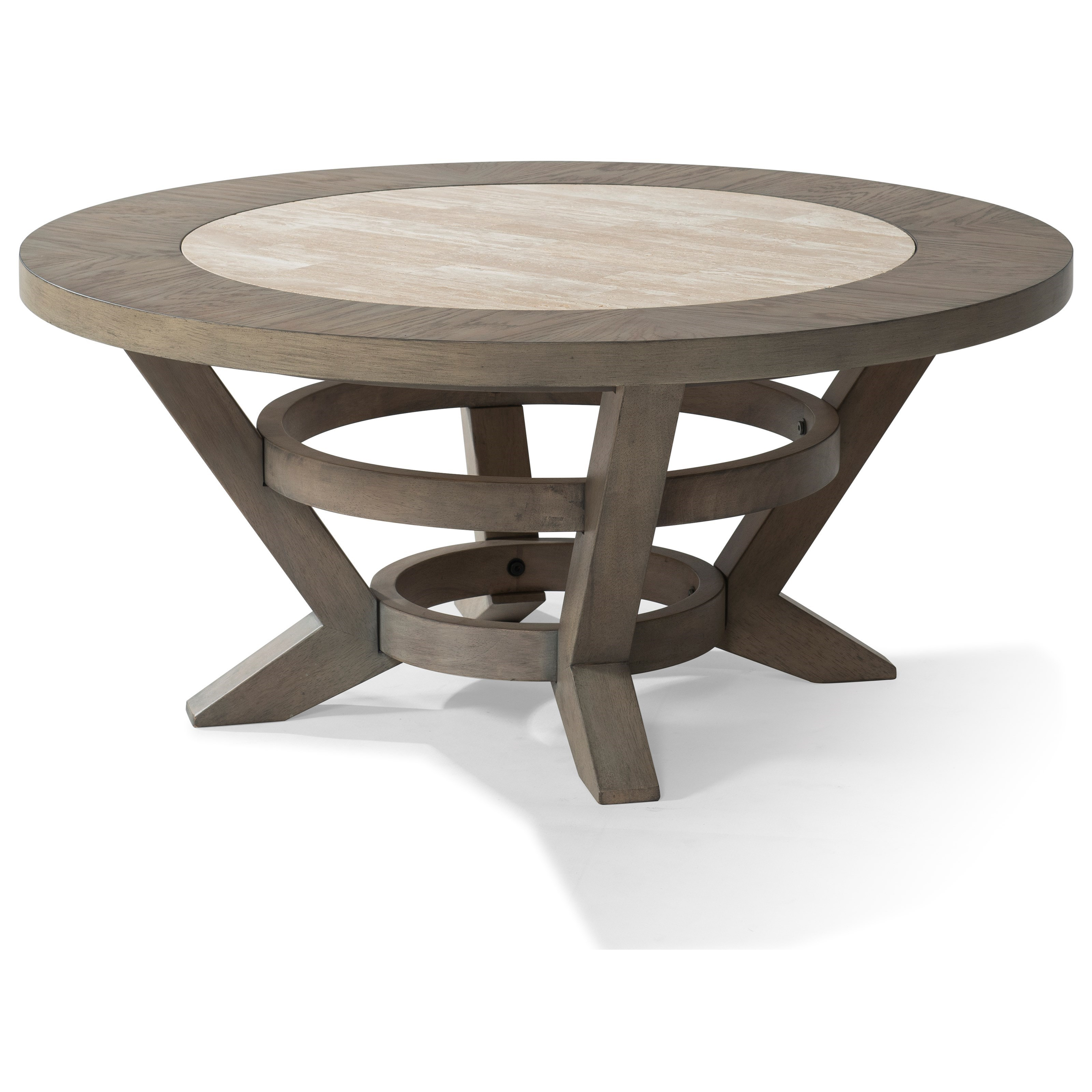 "Trisha Yearwood Home Collection by Klaussner Music City ""Hello, I'm Gone"" Round Cocktail Table - Item Number: 924-820 CTBL"