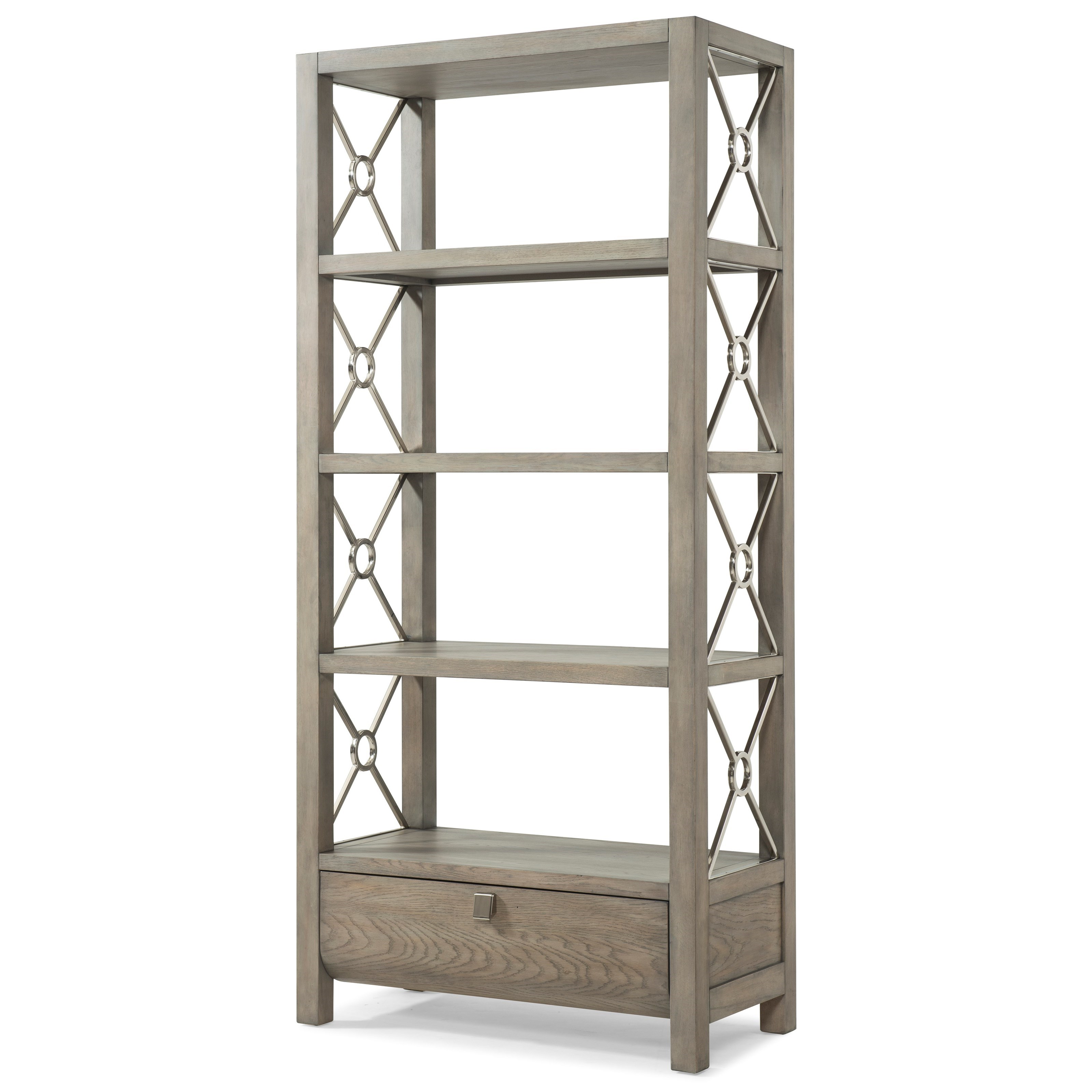 "Trisha Yearwood Home Collection by Klaussner Music City ""Wild For You Baby"" Etagere - Item Number: 924-860 ETAG"