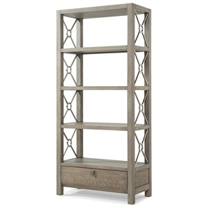 "Trisha Yearwood Home Collection by Klaussner Music City ""Wild For You Baby"" Etagere"