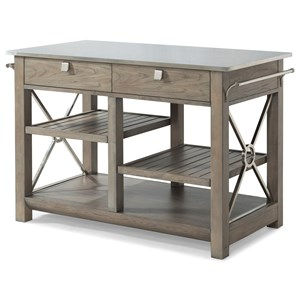 "Trisha Yearwood Home Collection by Klaussner Music City ""Here Comes Temptation"" Kitchen Island"