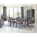 Trisha Yearwood Home Collection by Klaussner Music City Dining Room Group - Item Number: 925 Dining Room Group 3