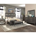Trisha Yearwood Home Collection by Klaussner Music City Queen Bed Complete
