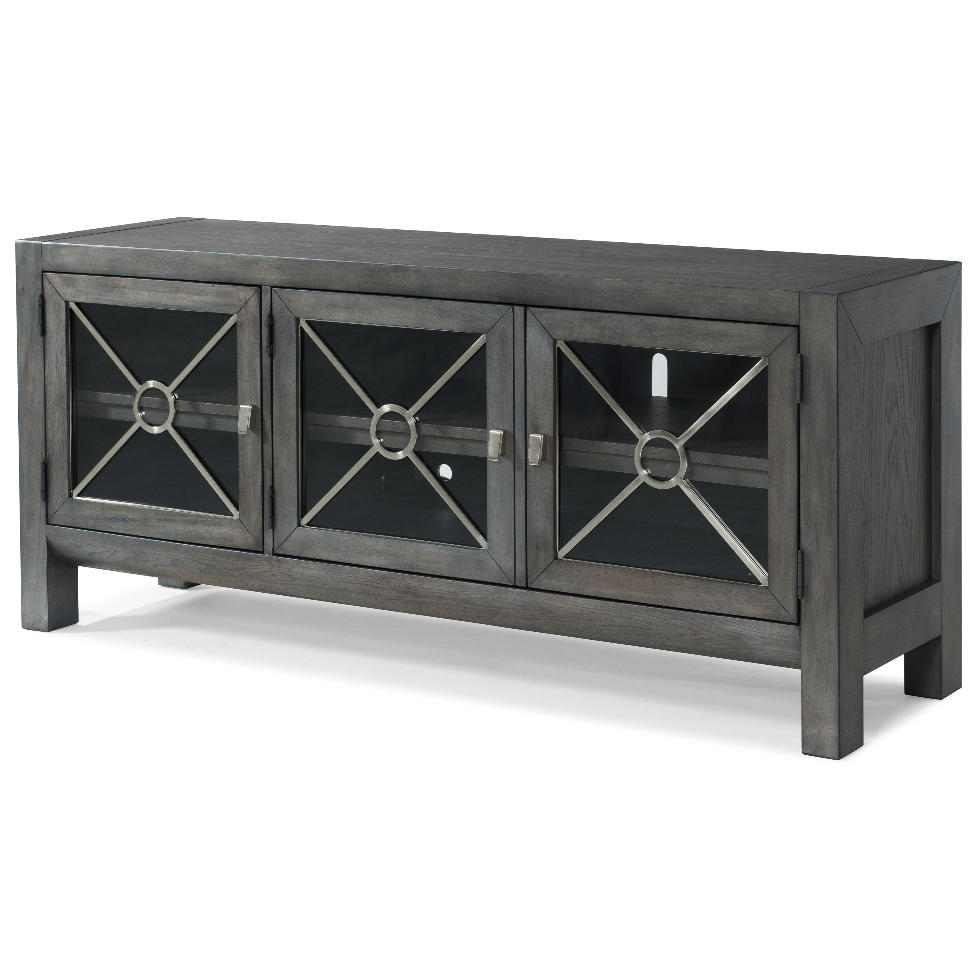 "Trisha Yearwood Home Collection by Klaussner Music City ""Real Live Woman"" TV Stand - Item Number: 925-070 CONS"