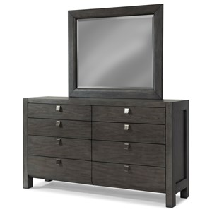 Trisha Yearwood Home Collection by Klaussner Music City Dresser and Mirror Set