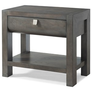 "Trisha Yearwood Home Collection by Klaussner Music City ""Nightengale"" One Drawer Nightstand"