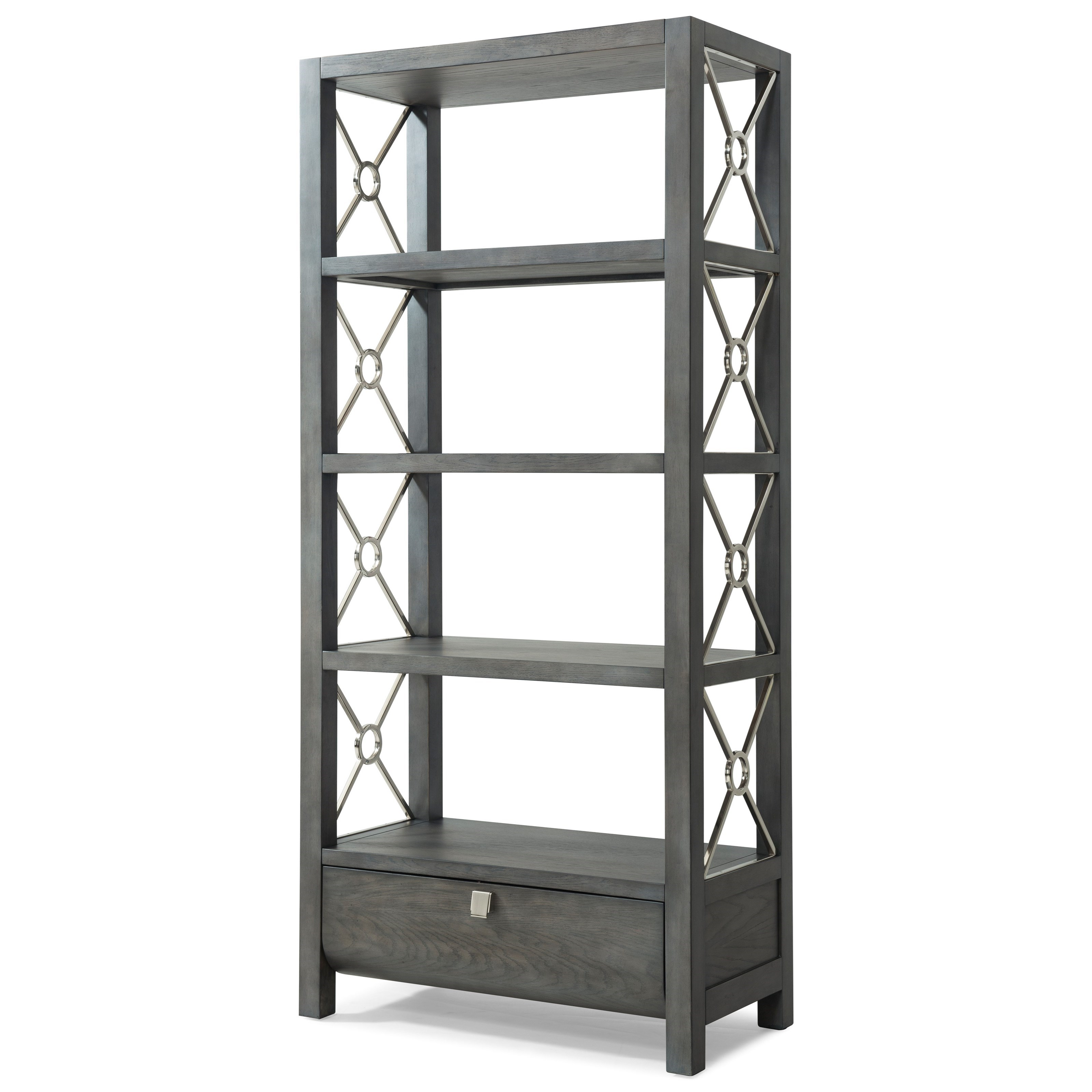 """Trisha Yearwood Home Collection by Klaussner Music City """"Wild For You Baby"""" Etagere - Item Number: 925-860 ETAG"""