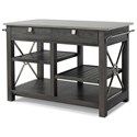 "Trisha Yearwood Home Collection by Klaussner Music City ""Here Comes Temptation"" Kitchen Island - Item Number: 925-885 ISLAN"
