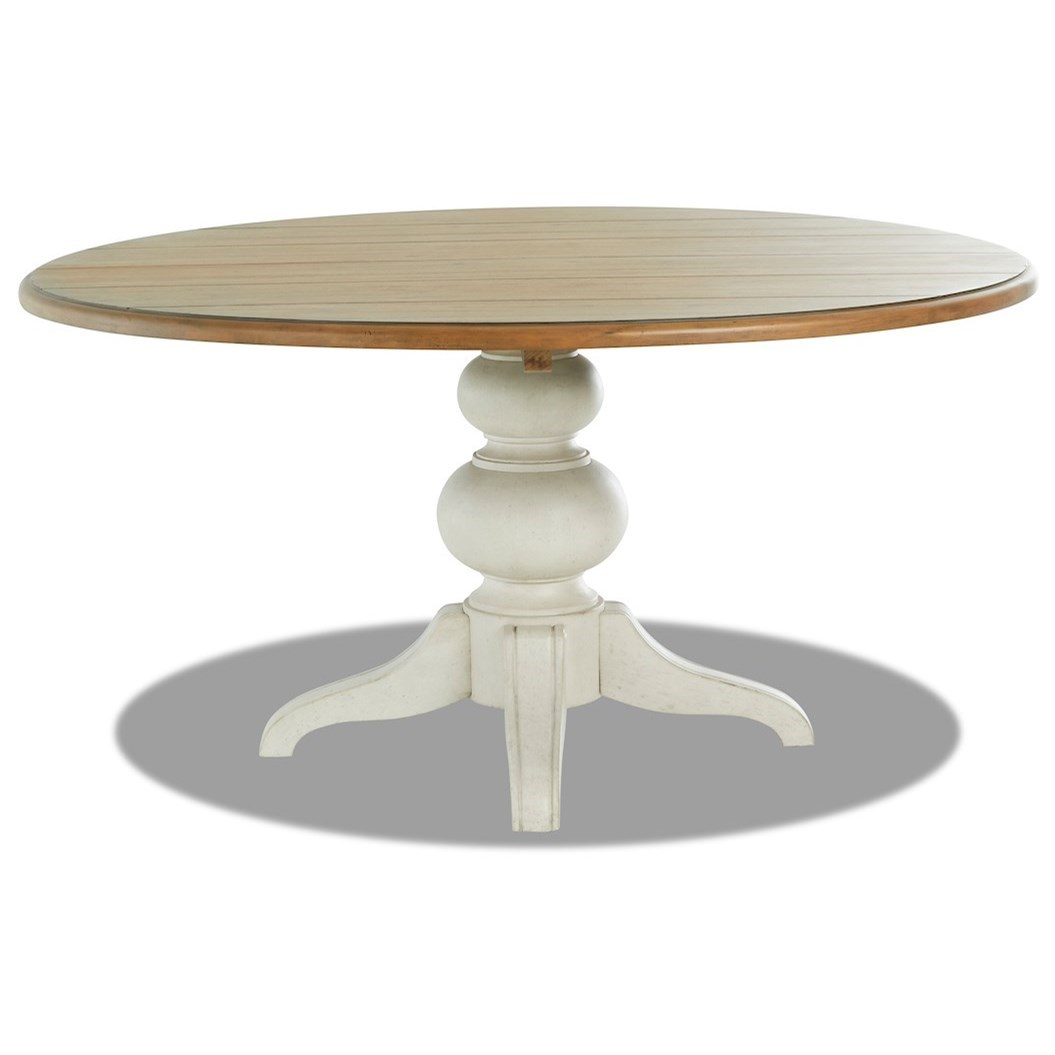 Nashville In The Round Dining Table by Trisha Yearwood Home Collection by Klaussner at Johnny Janosik