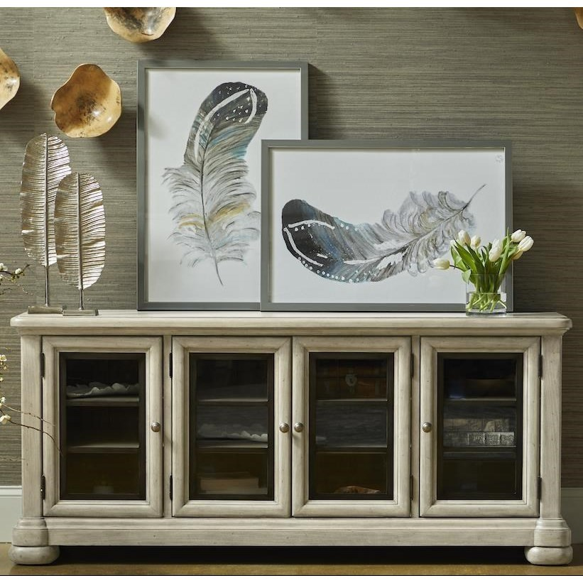 Nashville Music Row Console by Trisha Yearwood Home Collection by Klaussner at Johnny Janosik