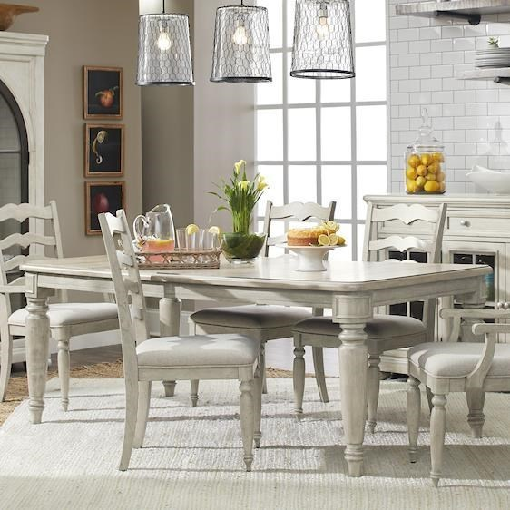 Nashville McGuire's Dining Table by Trisha Yearwood Home Collection by Klaussner at Johnny Janosik