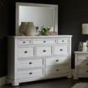 Trisha Yearwood Home Collection by Klaussner Nashville Dresser + Mirror Set - Item Number: 749-650 DRES+660 MIRR