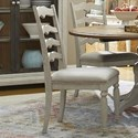 Trisha Yearwood Home Collection by Klaussner Nashville Concord Ladderback Side Chair - Item Number: 749-900 DRC