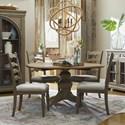 Trisha Yearwood Home Collection by Klaussner Nashville 5-Piece Dining Set - Item Number: 750-030 DRT+4X900 DRC