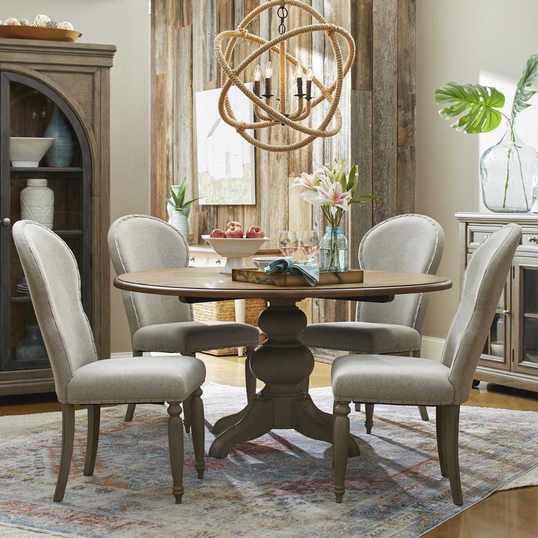 Nashville 5-Piece Dining Set by Trisha Yearwood Home Collection by Klaussner at Johnny Janosik