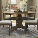 Trisha Yearwood Home Collection by Klaussner Nashville In The Round Dining Table - Item Number: 750-030 DRT