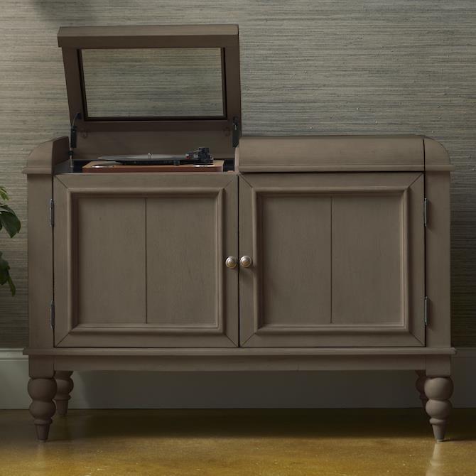 Platinum Record Player Cabinet