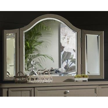 Nashville Broadway Vanity Mirror by Trisha Yearwood Home Collection by Klaussner at Johnny Janosik