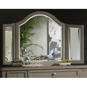 Trisha Yearwood Home Collection by Klaussner Nashville Broadway Vanity Mirror - Item Number: 750-461 VMIRR