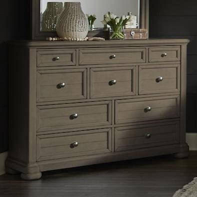 Nashville Titan Dresser by Trisha Yearwood Home Collection by Klaussner at Johnny Janosik