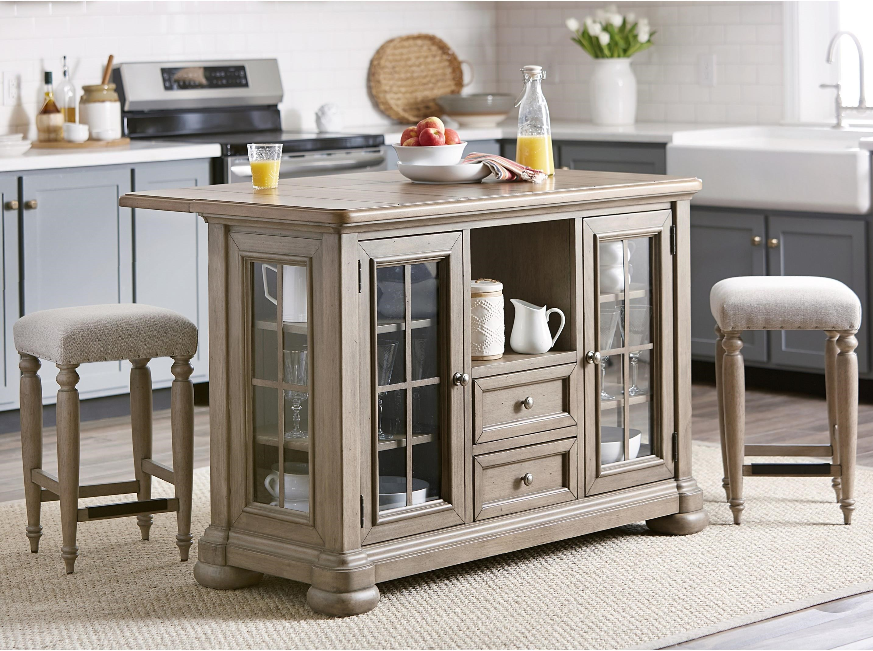 Nashville 3-Piece Dining Set by Trisha Yearwood Home Collection by Klaussner at Johnny Janosik