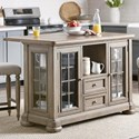 Trisha Yearwood Home Collection by Klaussner Nashville Trisha's Kitchen Island - Item Number: 750-885 ISLAN
