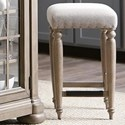 Trisha Yearwood Home Collection by Klaussner Nashville Douglas Corner Counter Height Stool - Item Number: 750-924 STOOL