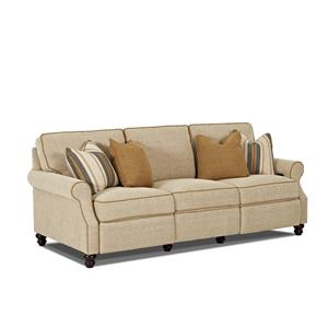 Trisha Yearwood Home Collection by Klaussner Tifton Traditional Power Reclining Sofa